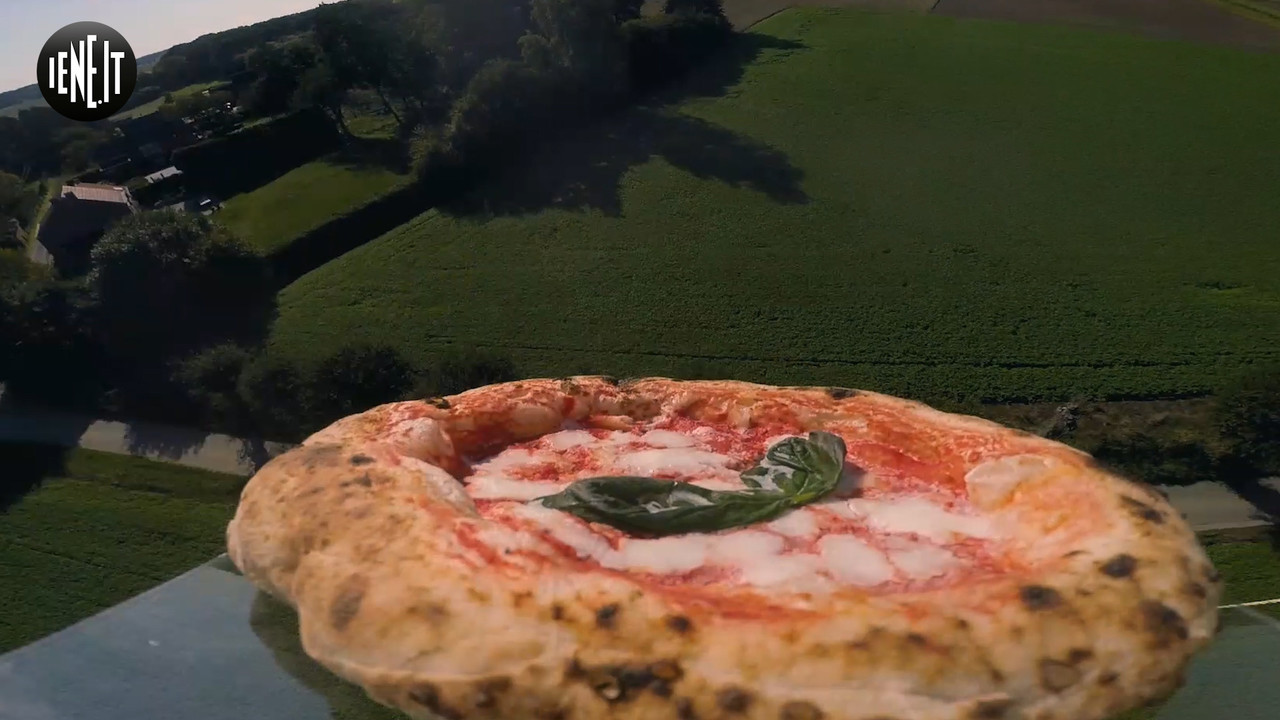 La pizza italiana vola nello spazio