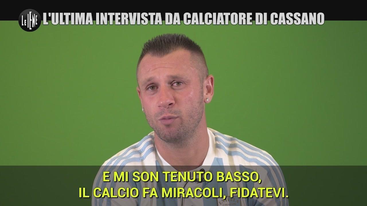 antonio cassano calciatore intervista