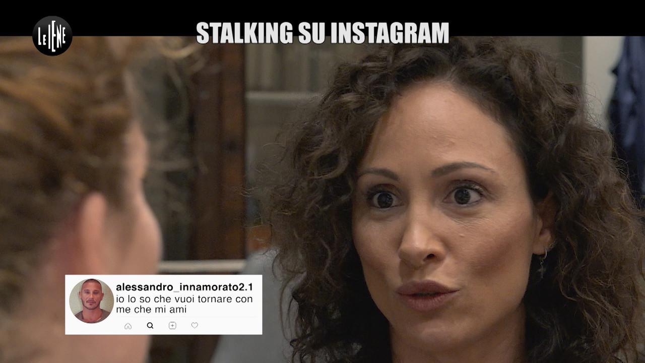 stalking donna perseguitata online
