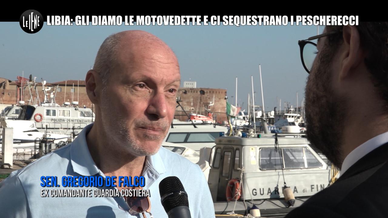 pescherecci sequestrati mazara del vallo libia motovedette