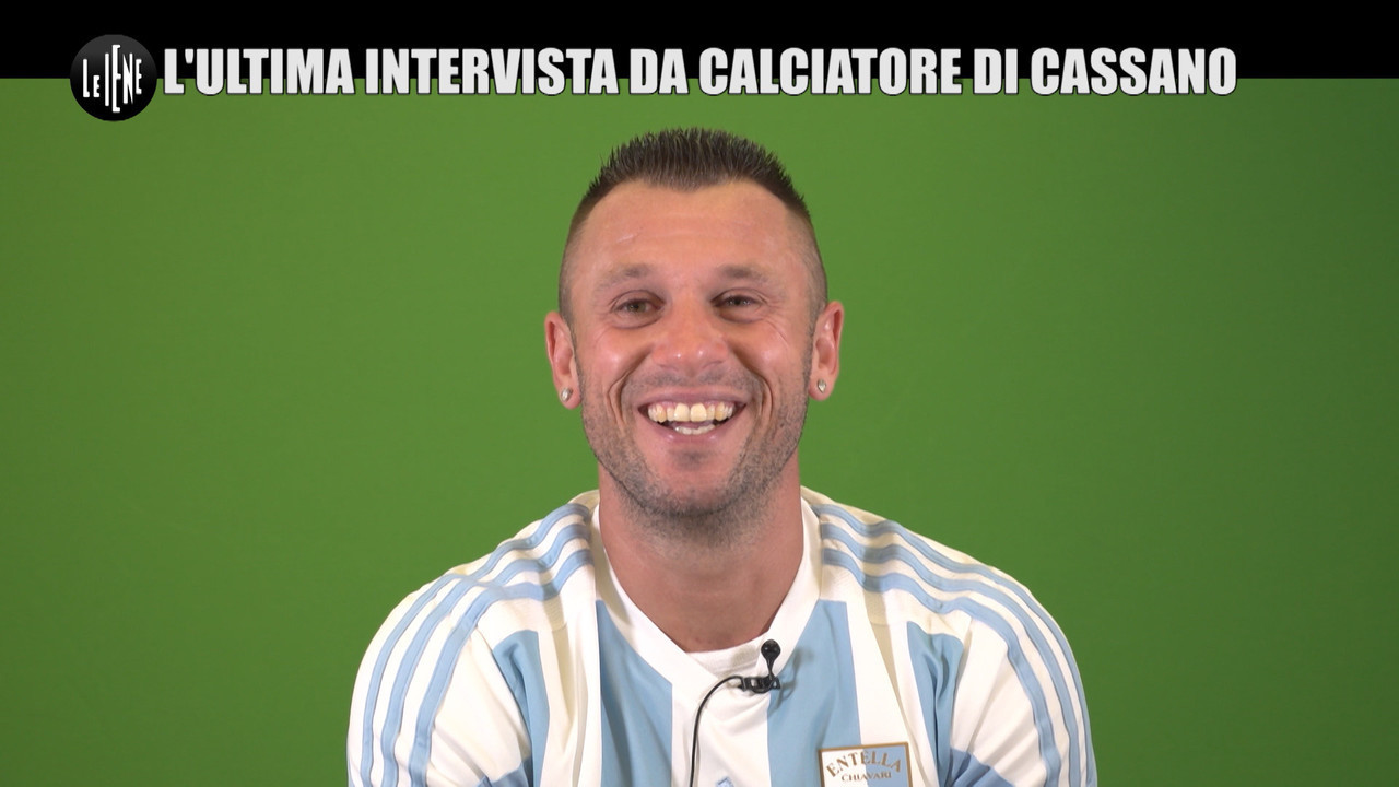 antonio cassano intervista calciatore