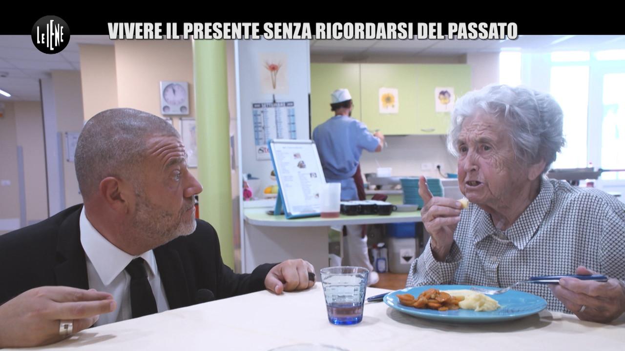 Alzheimer, i pazienti incontrati da Giulio Golia