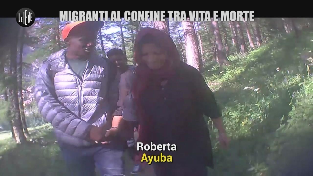 Claviere migranti Italia Francia Bardonecchia video