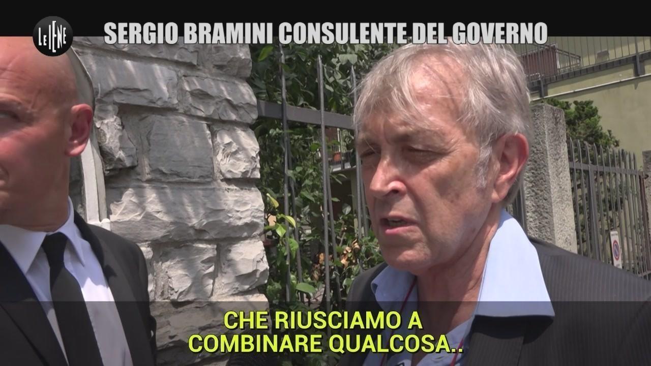 Bramini Sergio consulente governo Di Maio imprenditore fallito sfratto video
