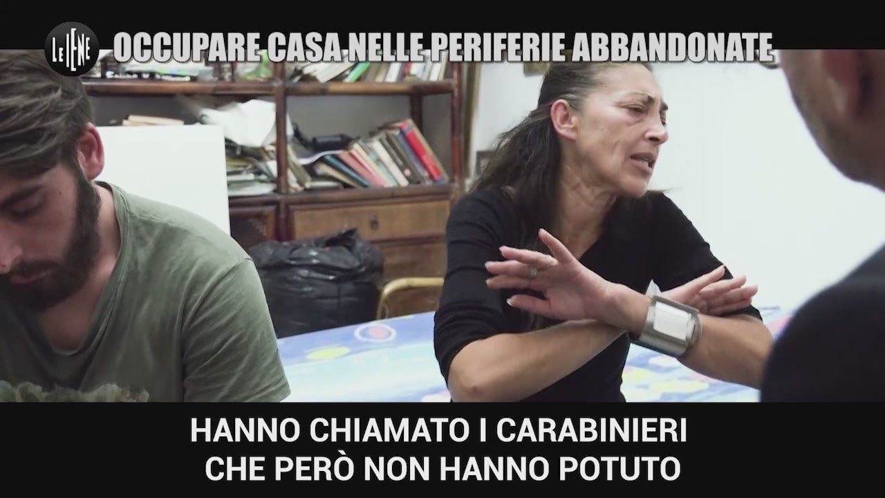 case popolari occupate Roma Laurentino 38 storie video