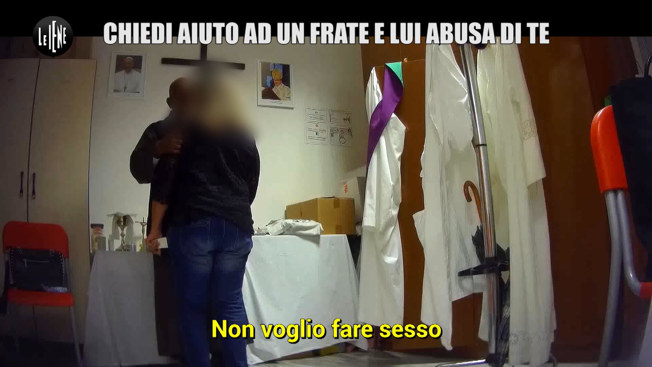 frate abusatore abuso sessuale foto