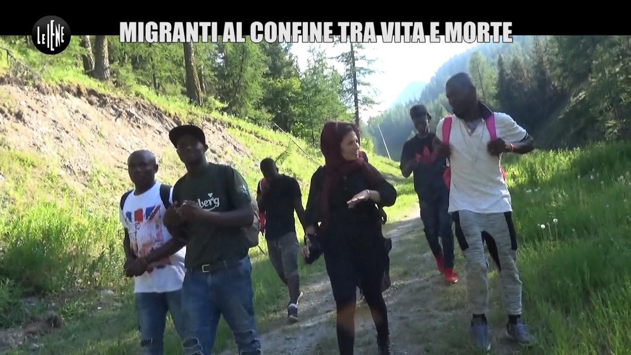 REI: Dopo Claviere, Le Iene sui sentieri alpini dei migranti tra Italia e Francia