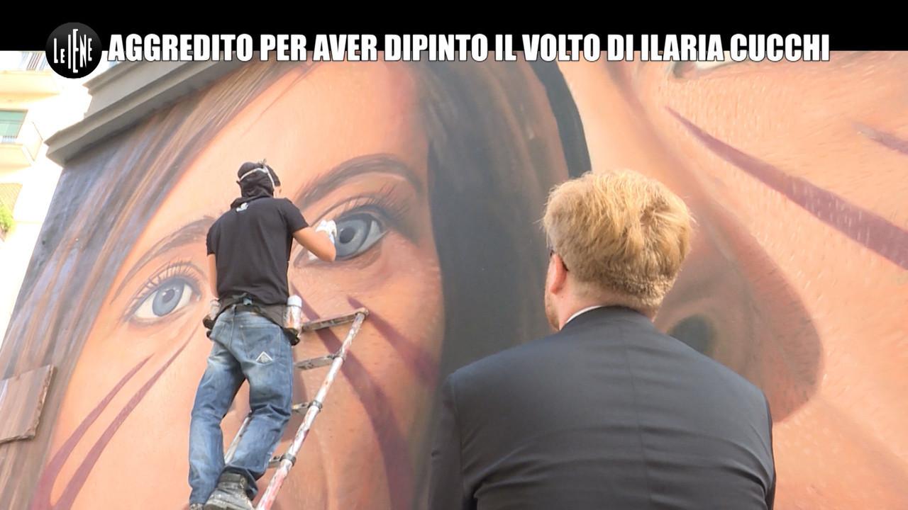 Jorit Agoch street art aggredito per aver dipinto il volto di Ilaria Cucchi