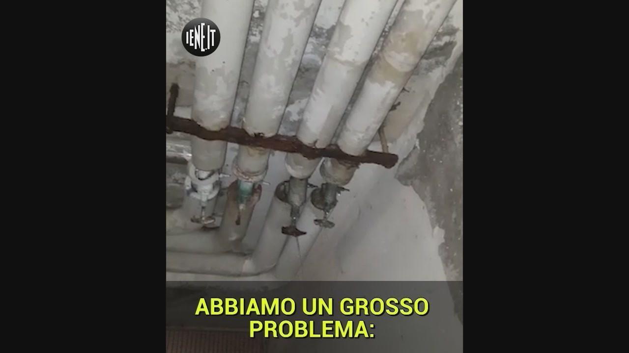 Laurentino 38 Roma allagamento Torre 9 tubature rotte