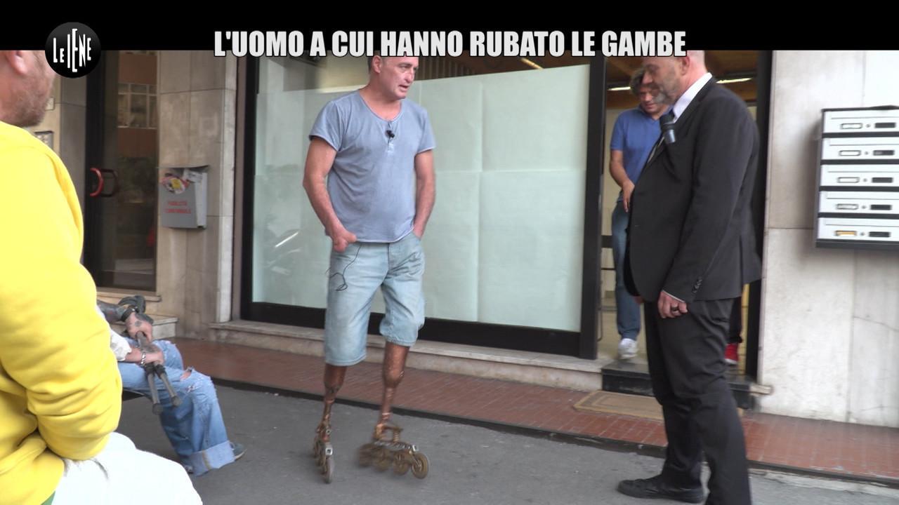 GOLIA: Fulvio, il genio delle (sue) protesi, derubato del brevetto