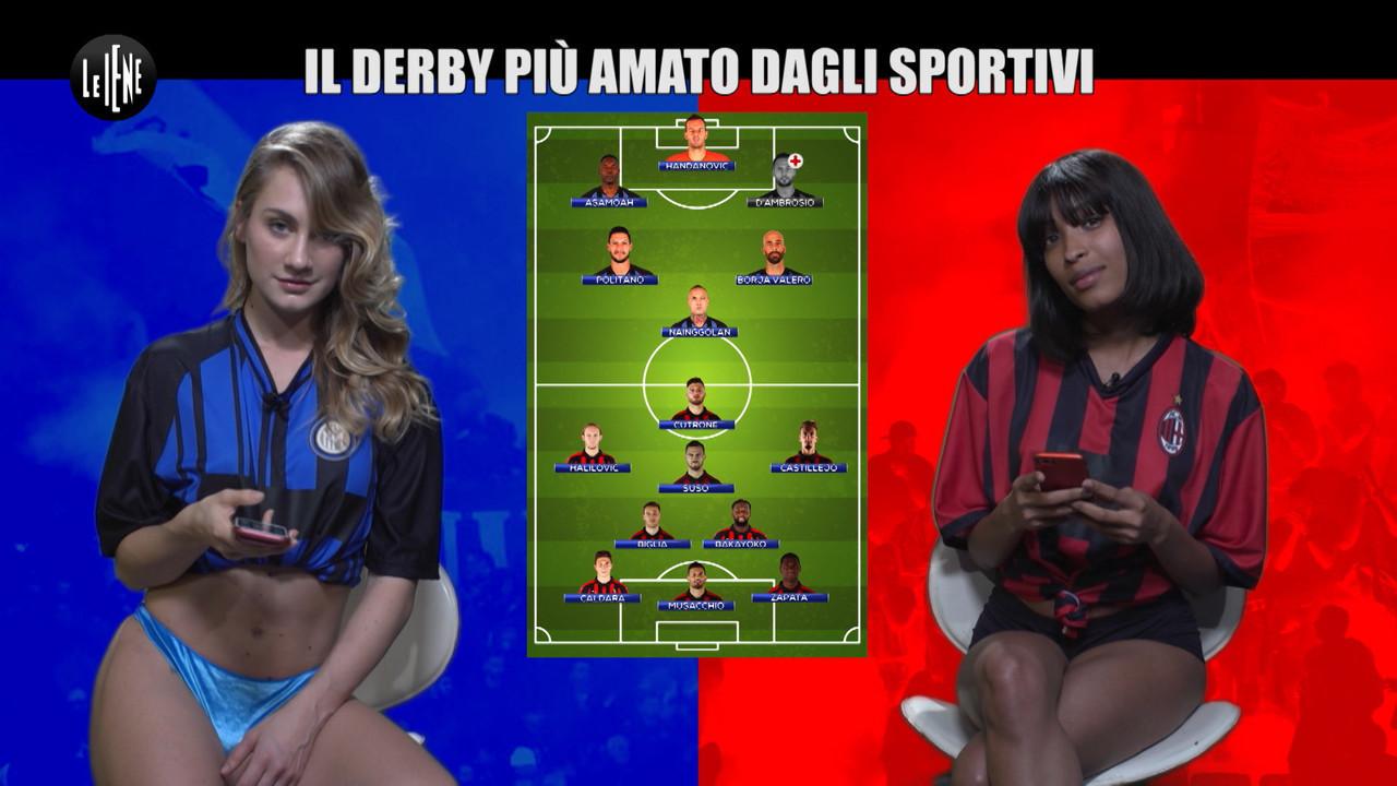 Inter-Milan: Le Iene hanno previsto la vittoria neroazzurra