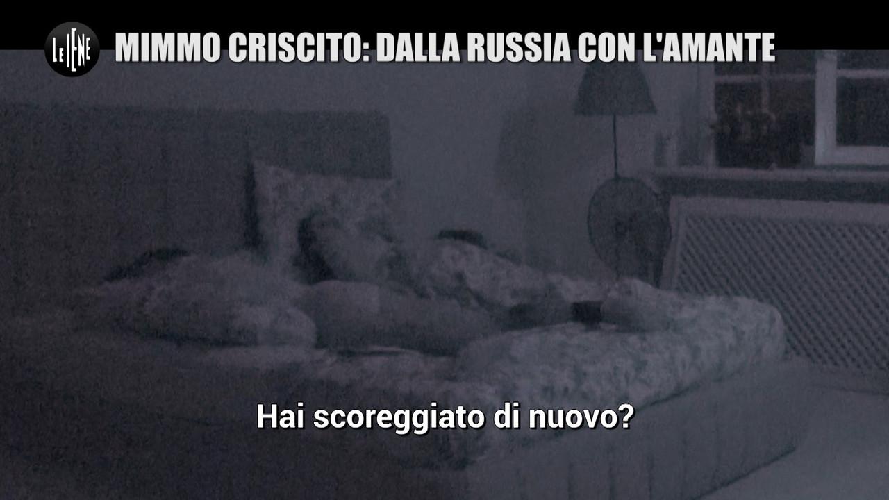 GAZZARRINI Criscito trasloca Italia amante moglie