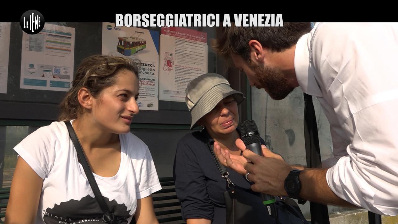 DE DEVITIIS: Le borseggiatrici rom di Venezia, minorenni o incinte