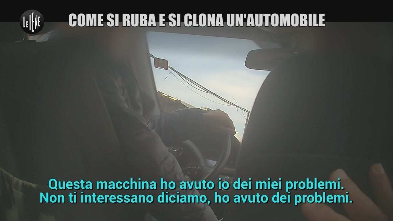 auto rubate clonate aggressione Valeria Castellano video