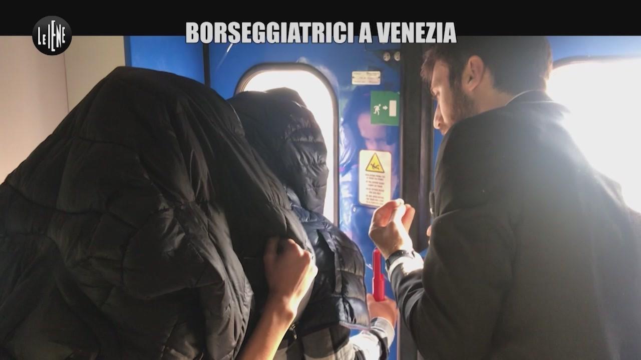 borseggiatrici rom venezia inseguimento