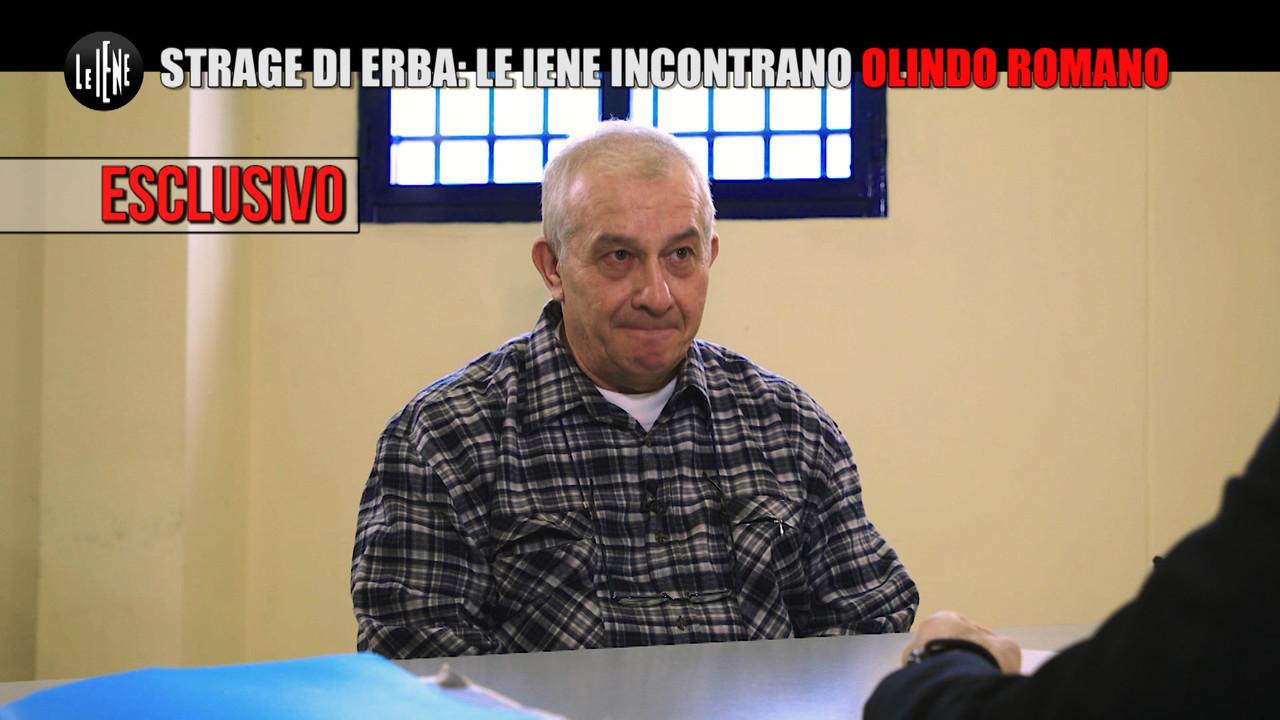 Le Iene incontrano Olindo Romano in carcere