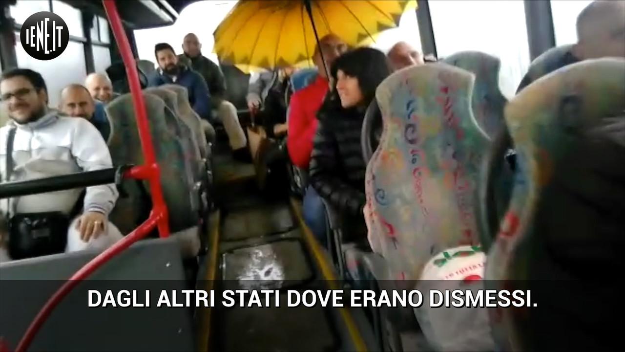 I disagi dei pendolari del bus Petacciato-Termoli. Le foto