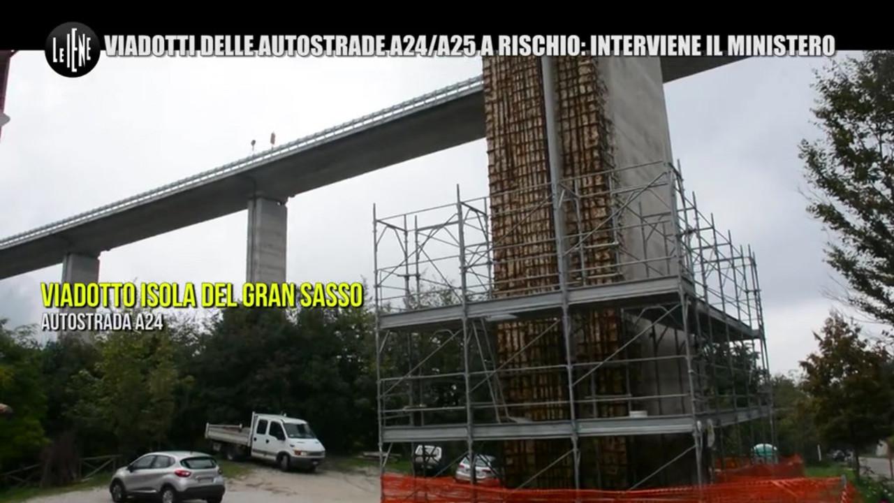 Ponti delle autostrade A24 e A25 a rischio: le foto: