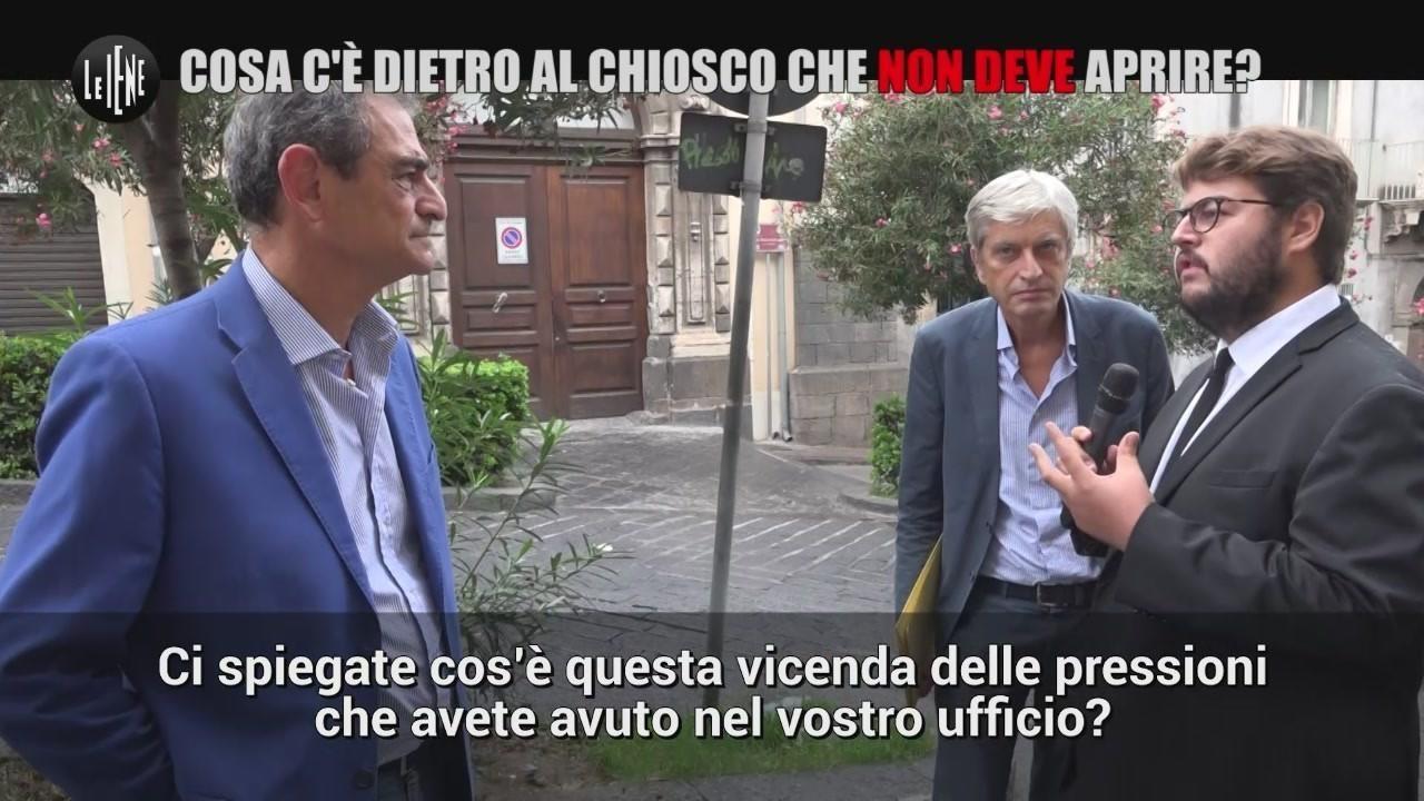 chiosco baracchino bloccato burocrazia Catania Schembri video