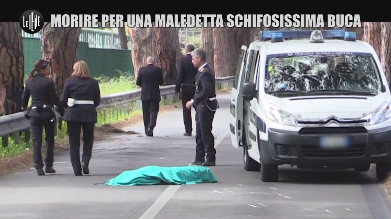 PASCA Roma morire  maledetta schifosissima buca