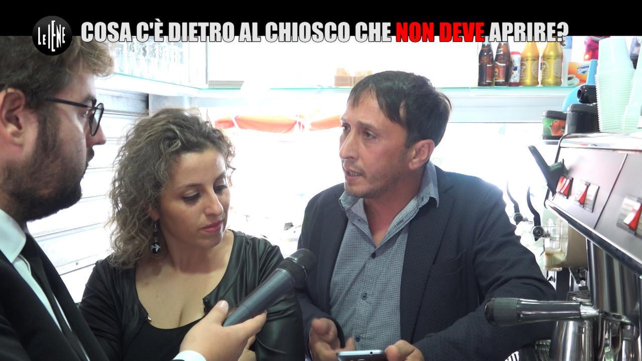 SCHEMBRI Catania chiosco famiglia bloccati burocrazia