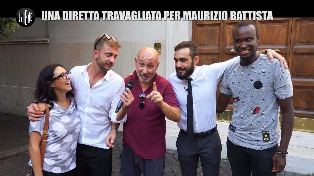 CORTI ONNIS Dopo Grande Fratello Vip figlio sorpresa Maurizio Battista