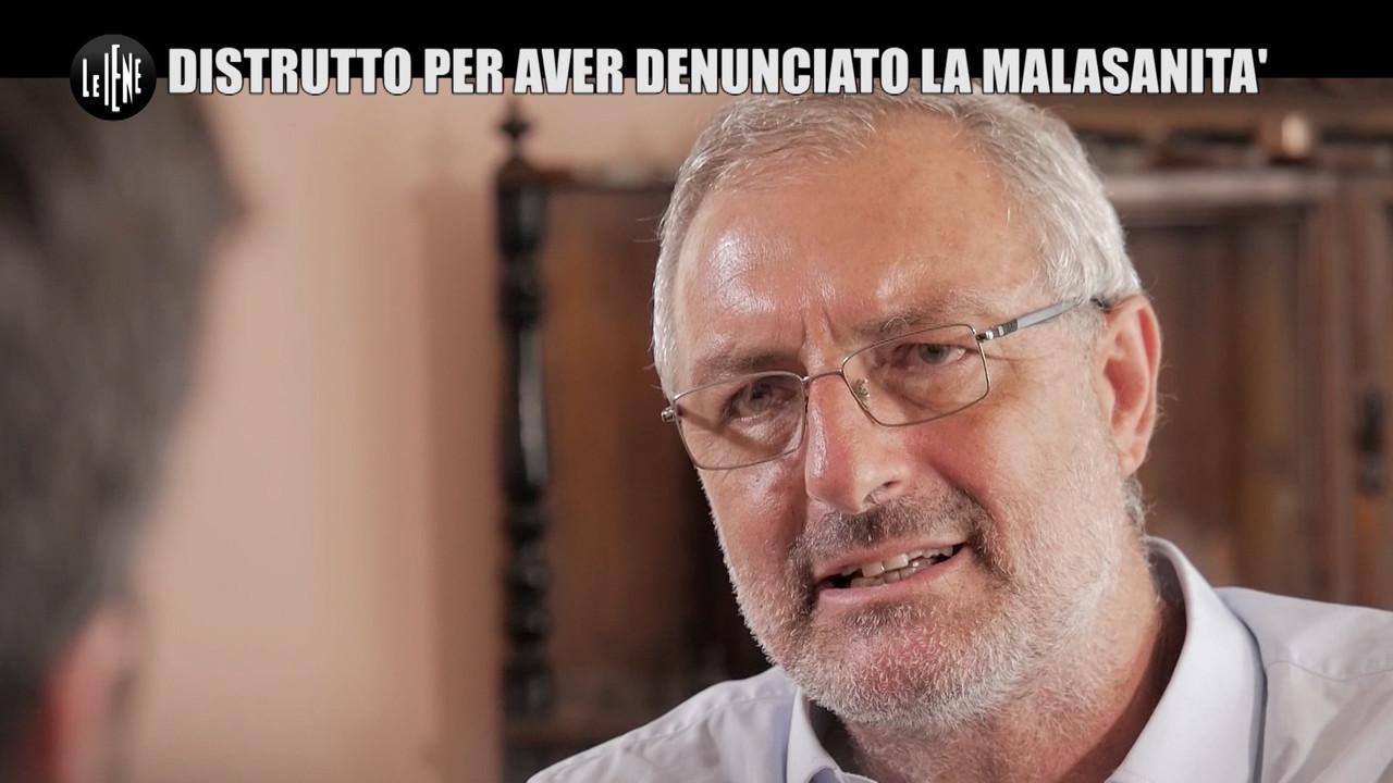 PECORARO Caserta denuncia malasanita chirurgo punizione