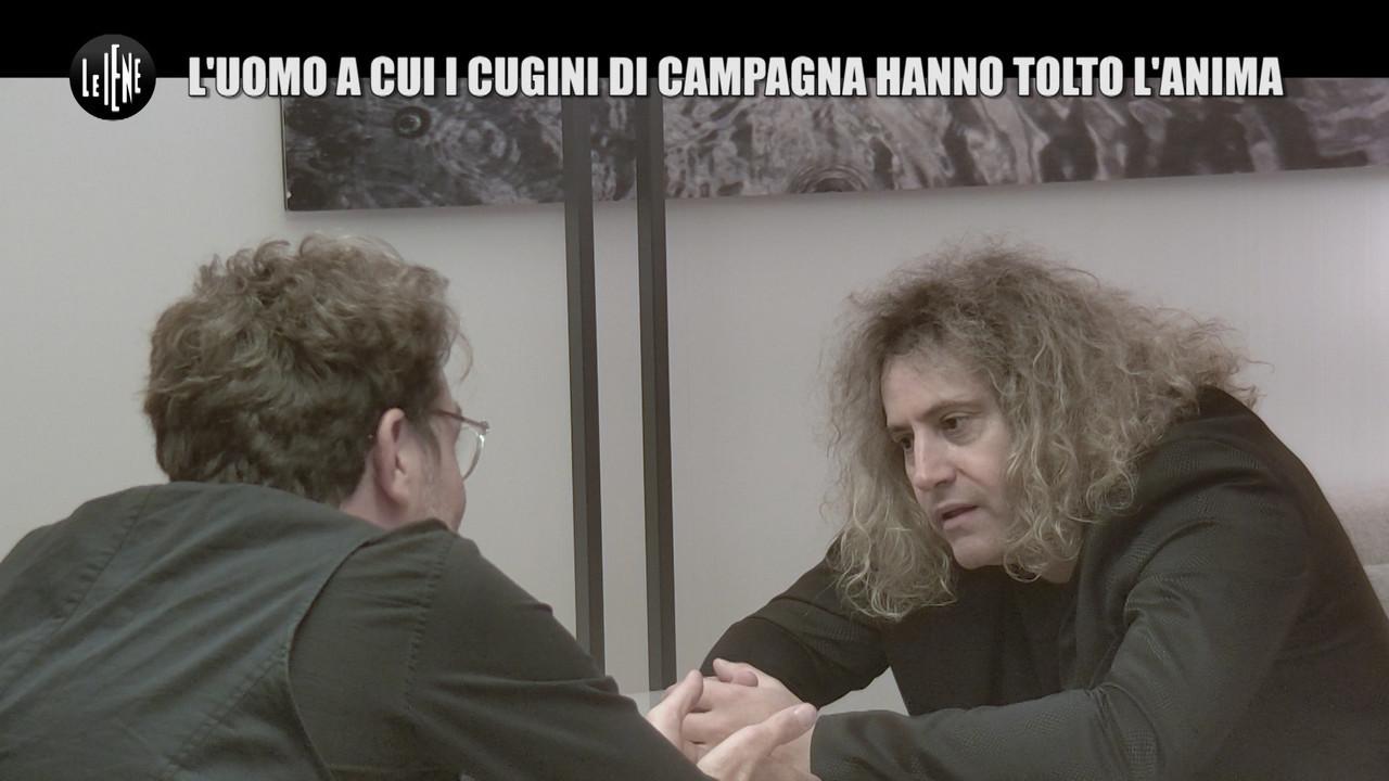 DI SARNO Nick Luciani ex Cugini di Campagna tagli capelli per reality