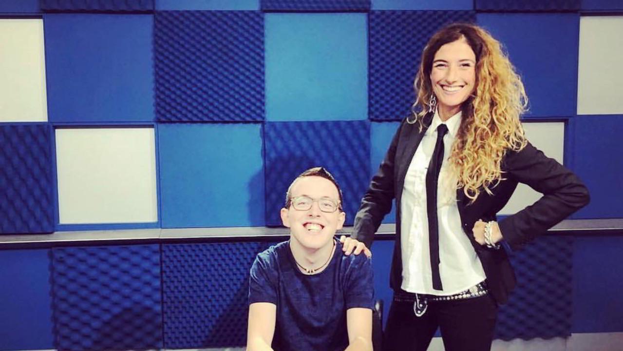 Il sogno del rapper disabile Cris Brave realizzato a San Siro con fedez e J-Ax