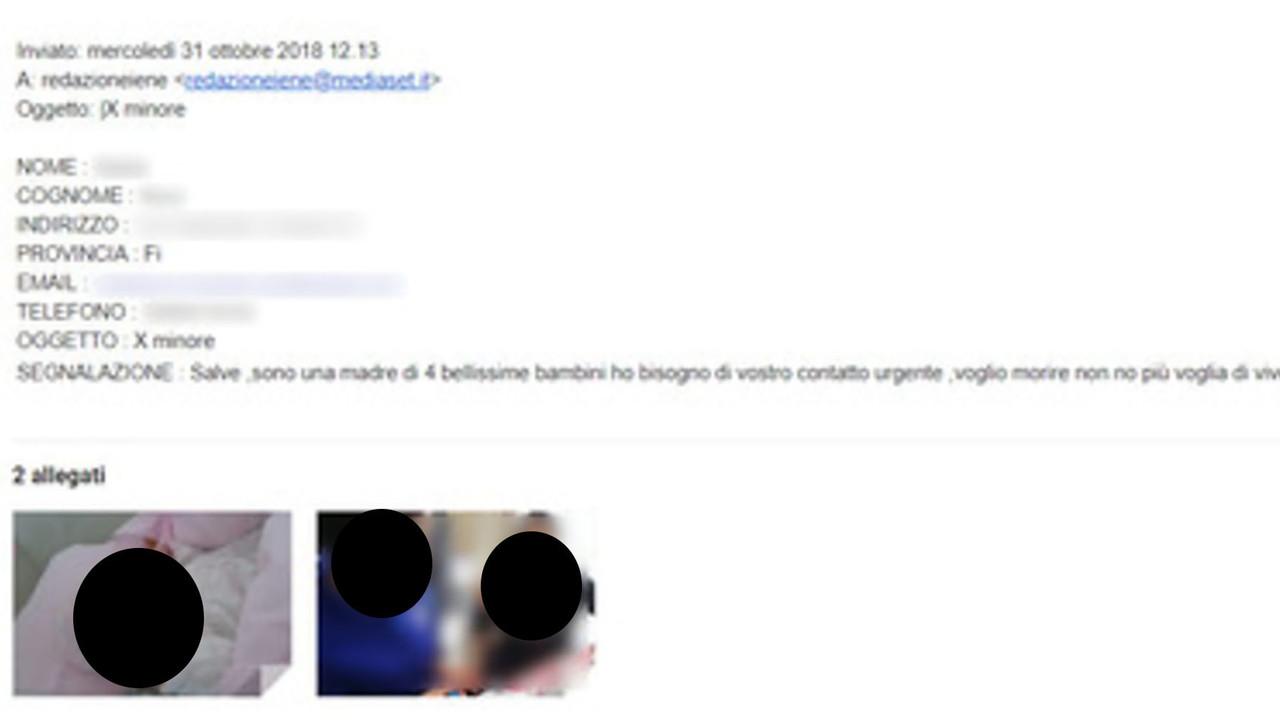 le iene suicidio carabinieri firenze email