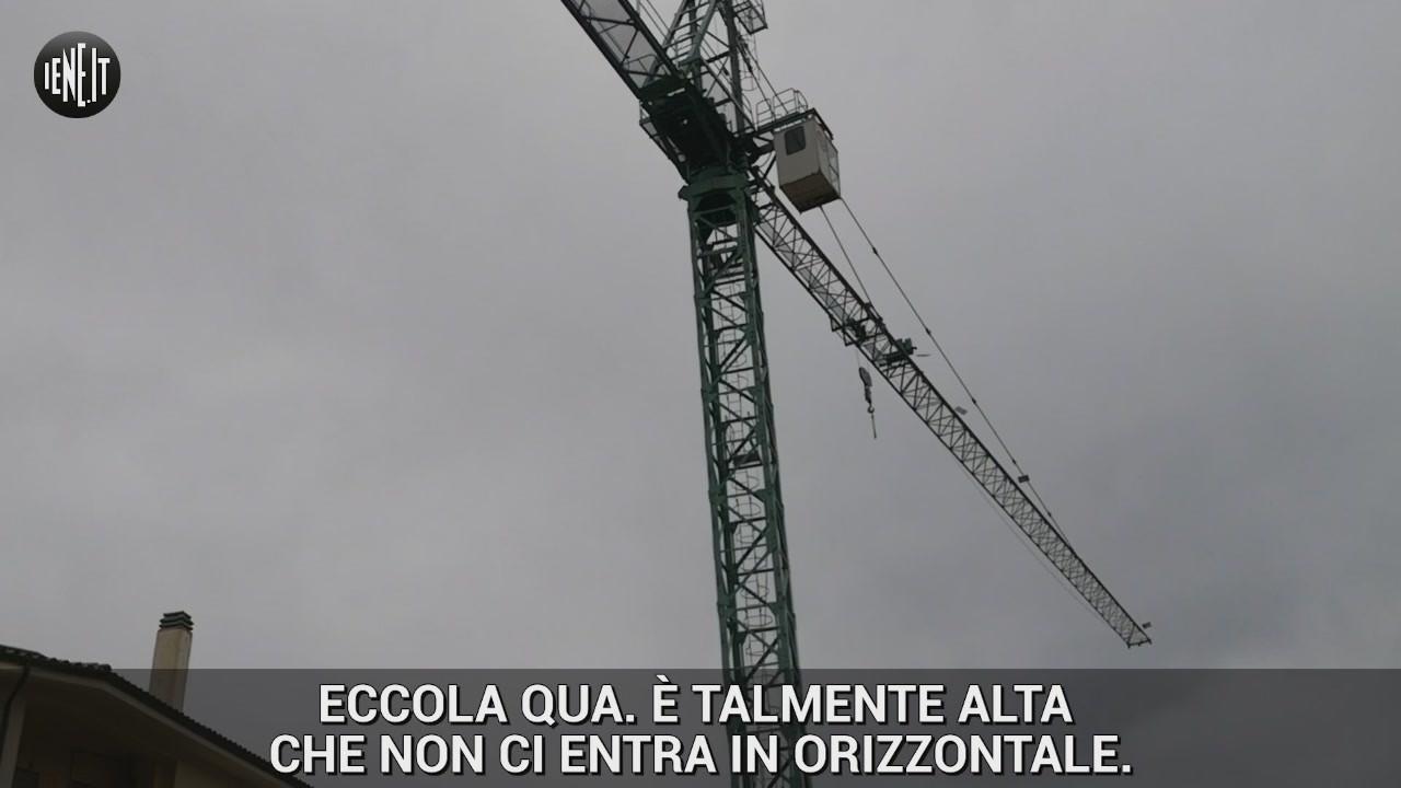 Iene gru pericolo paura crollo maltempo terremoto poggio mirteto
