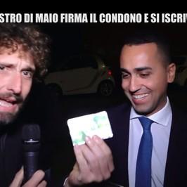 Ischia Di Maio Pd iscritto tessera abusi condono edilizio terremoto Filippo Roma