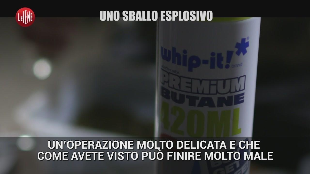Alessandro Politi video sballo esplosivo