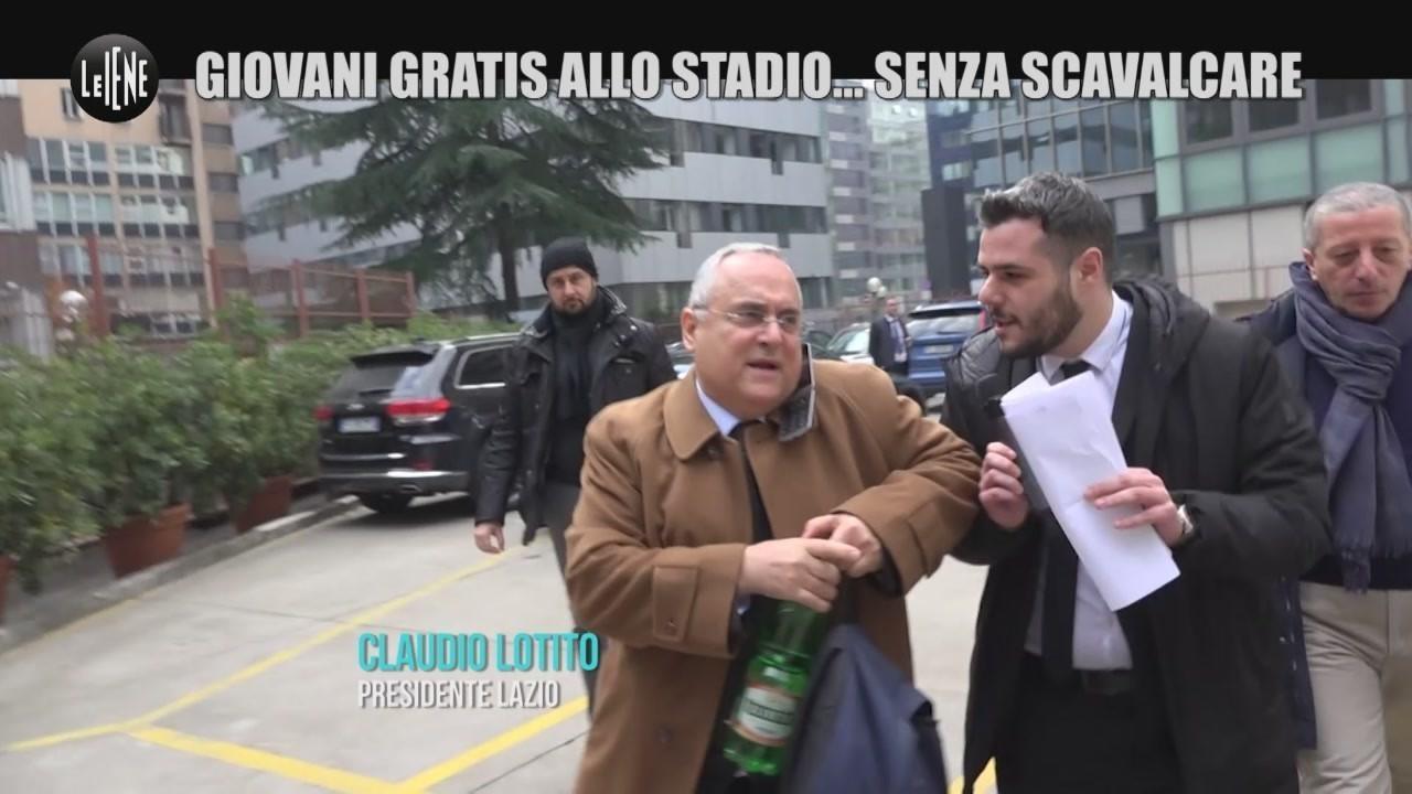 under 14 gratis stadio calcio legge Fabio Agnello video