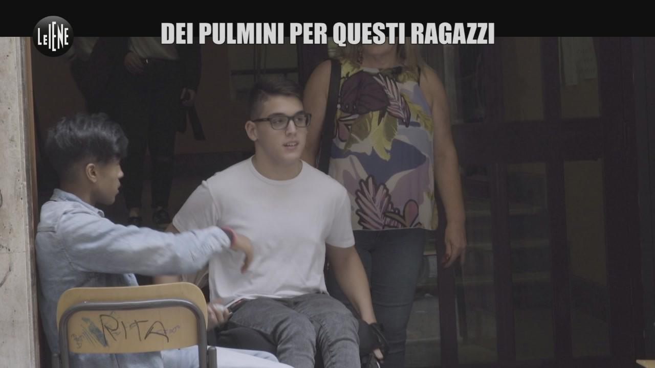 PASCA Palermo disabili senza pulmino scuola