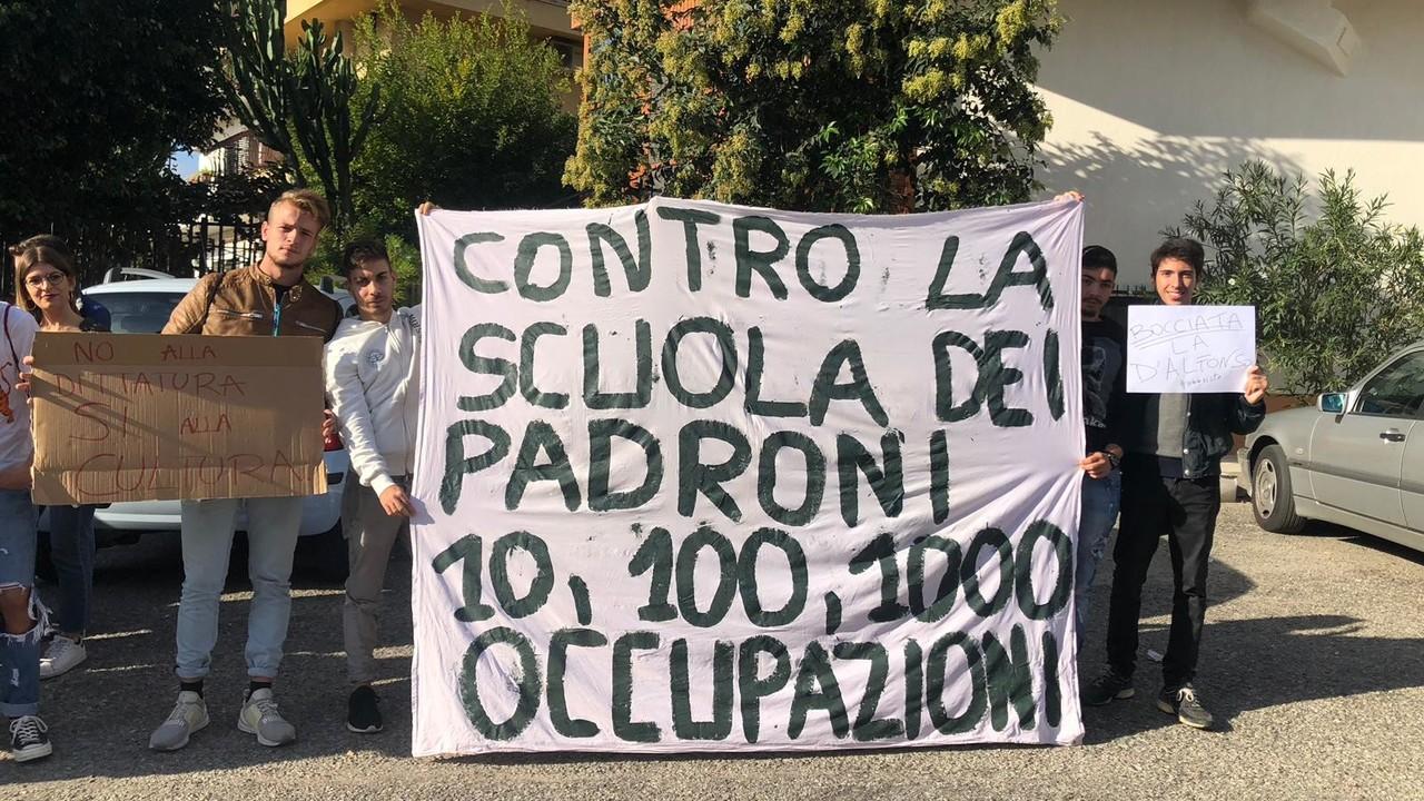 Salvate il Galilei: le foto della protesta
