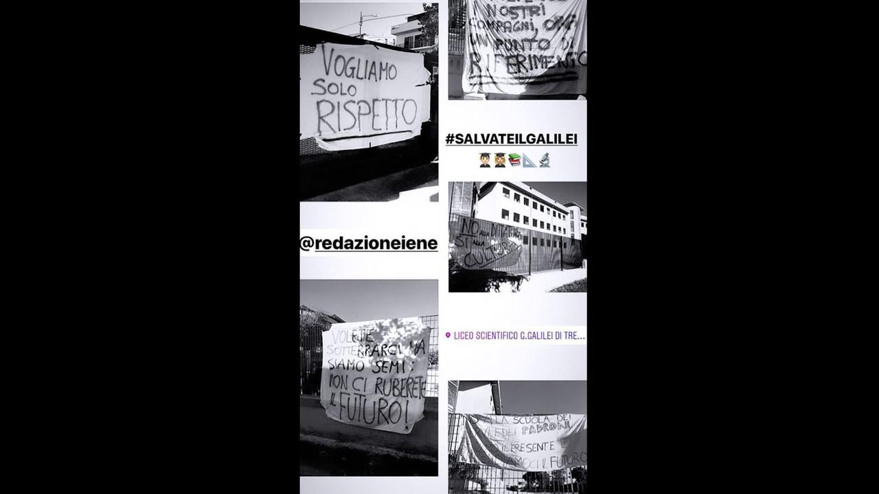 Salvate il Galilei: gli hashtag a Le Iene