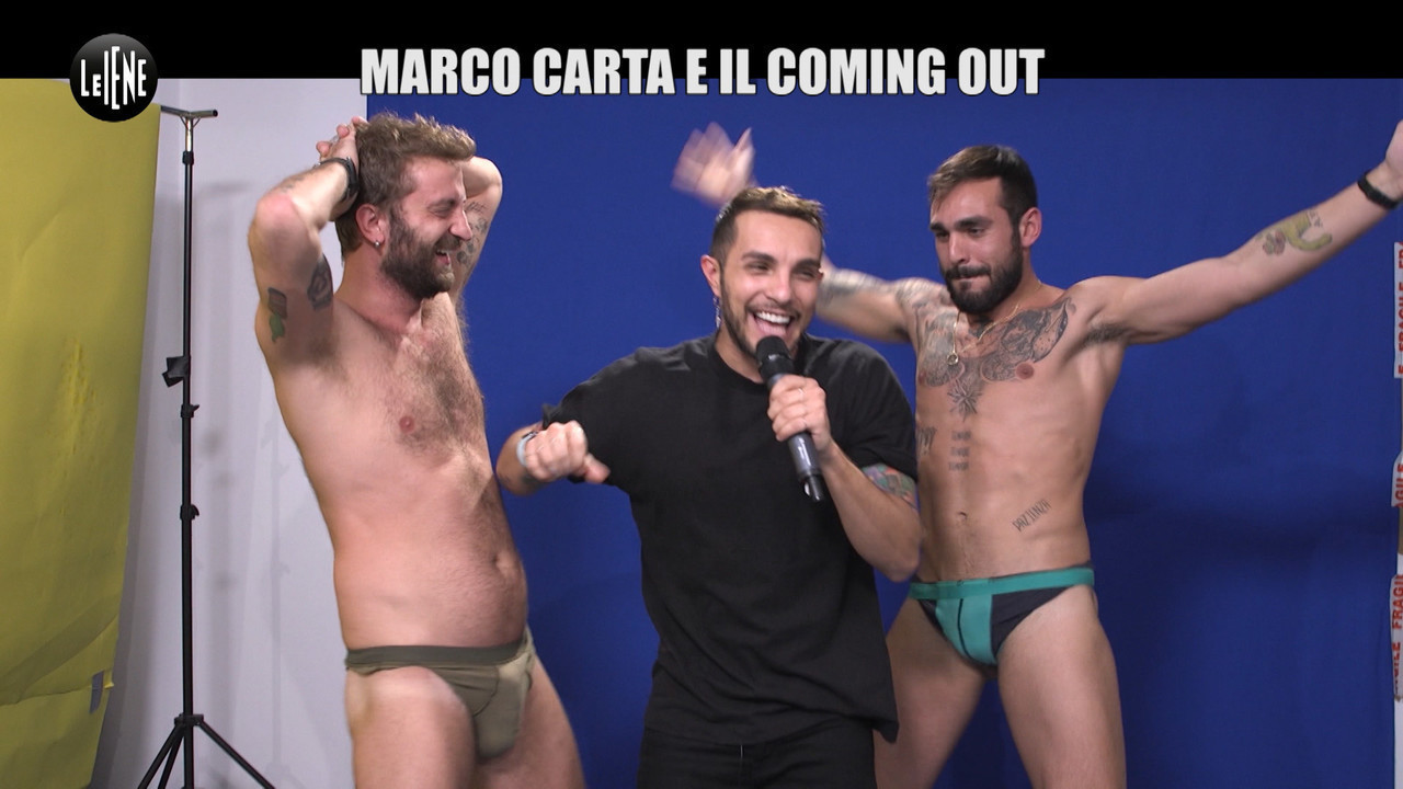 CORTI ONNIS coming out Marco Carta