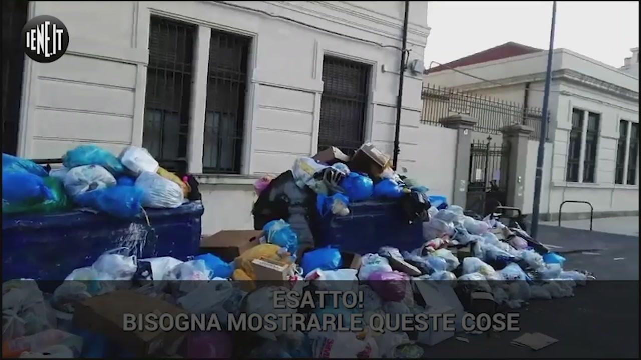 spazzatura rifiuti messina sicilia topi cinghiali emergenza