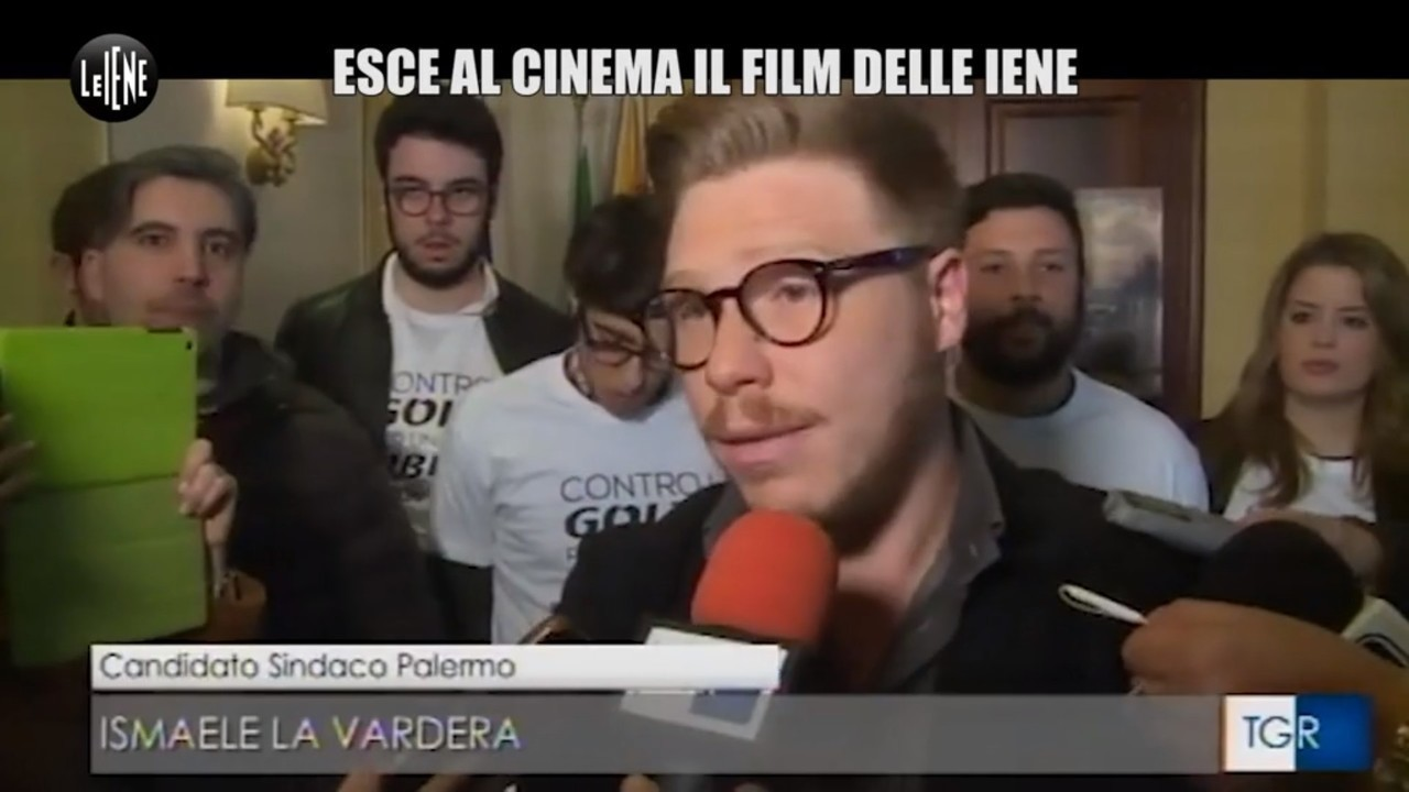 Italian politics for dummies film Iene Ismaele La Vardera candidato sindaco Palermo video anticipazione