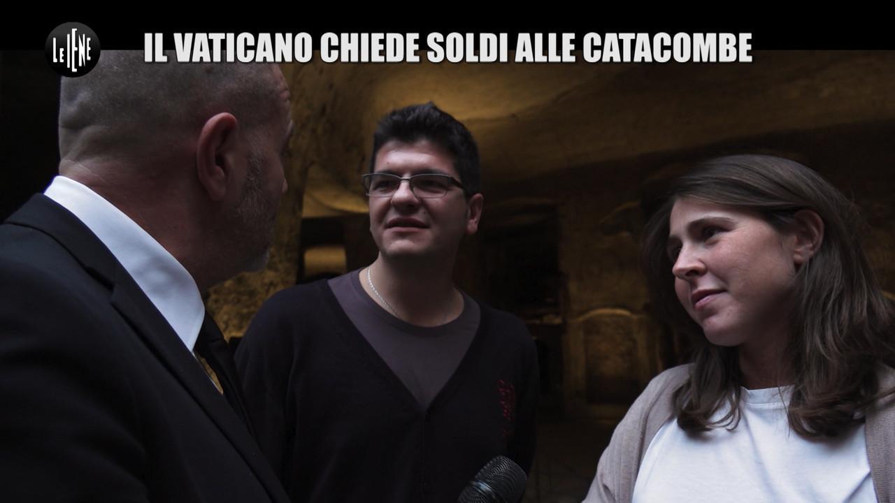 catacombe san gennaro vaticano chiede soldi
