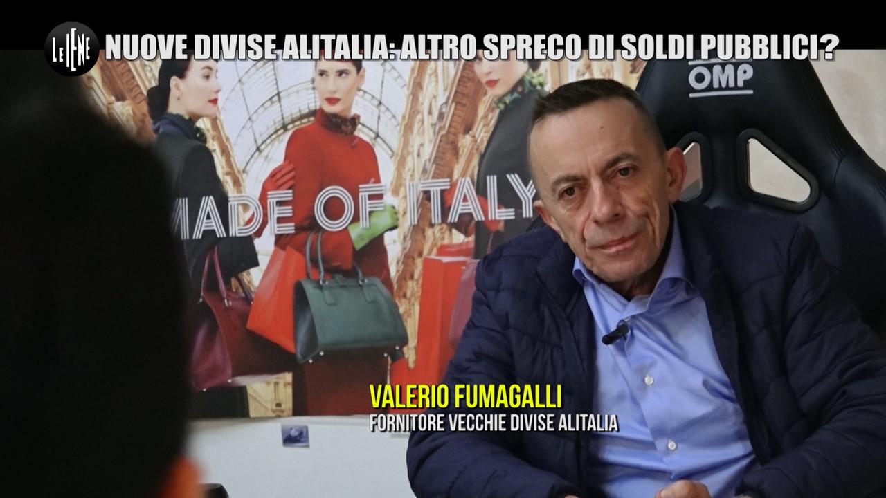 MONTELEONE Nuovo salvataggio Alitalia sapete quanto costata nuove divise comprese