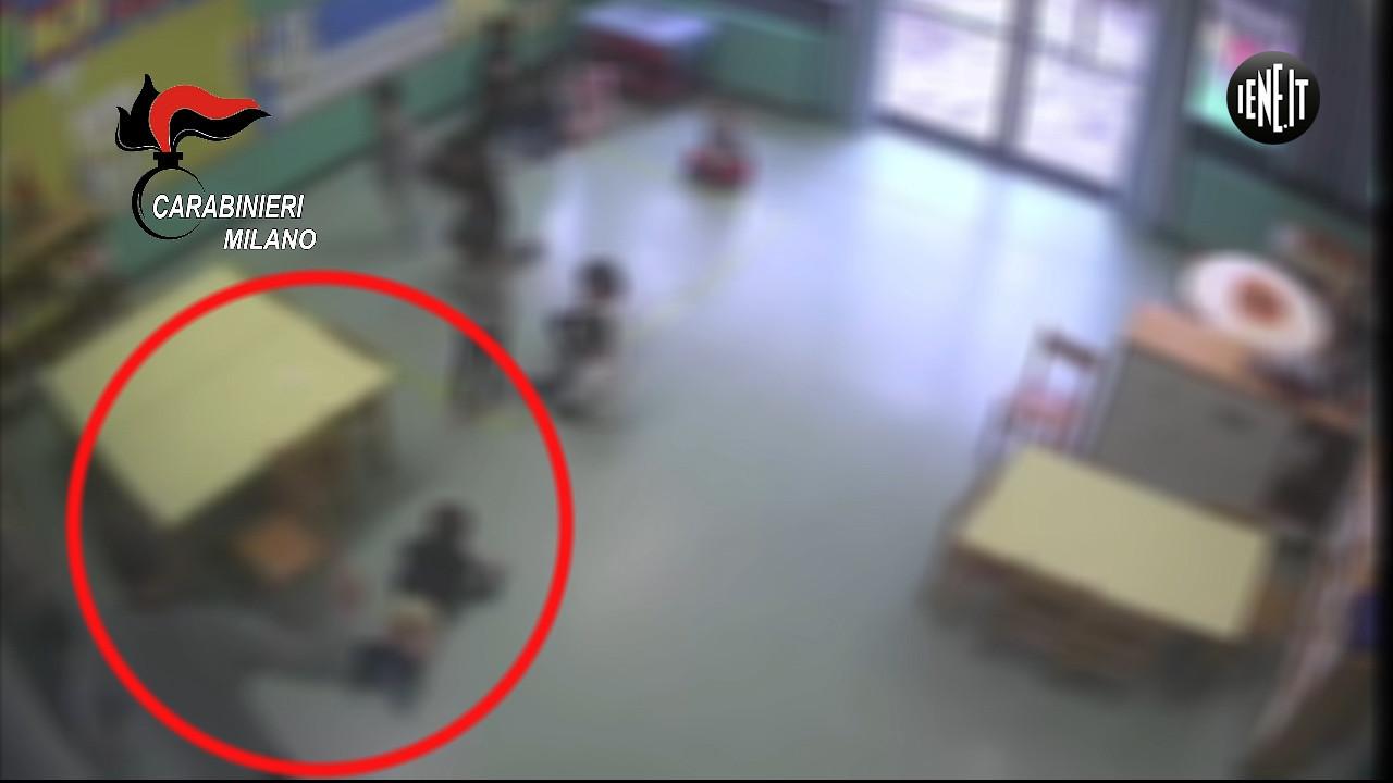 Maltrattamenti all'asilo: le foto della vergogna