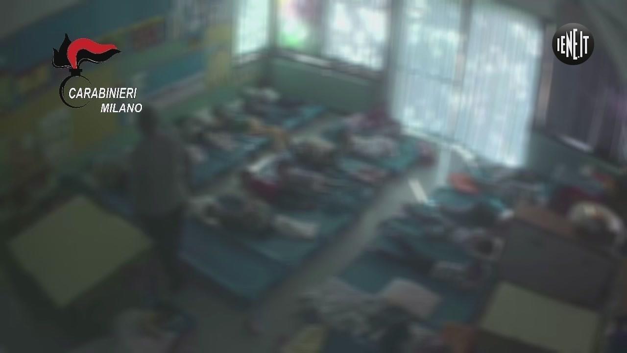 botte asilo maltrattamenti bambini