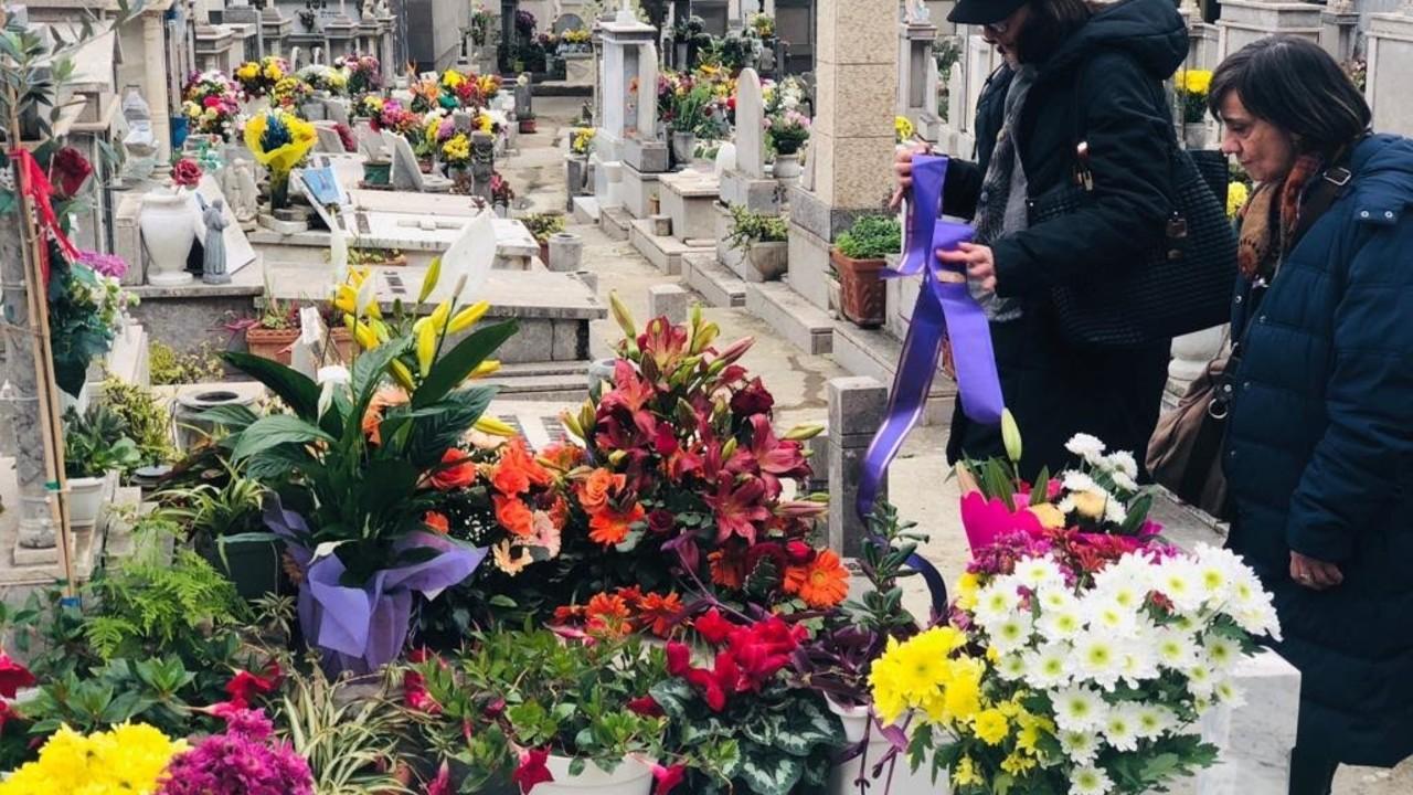 Il funerale di nonno Mariano: le foto