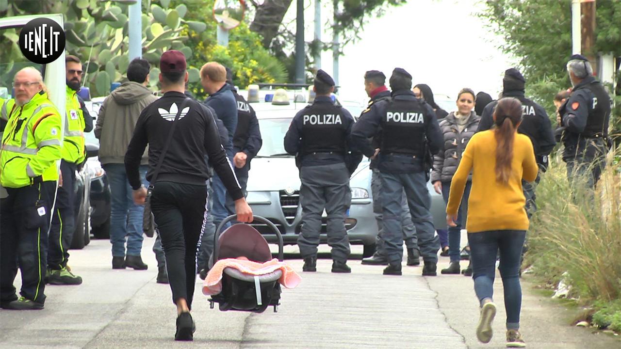 Beni confiscati alla mafia e occupati: lo sgombero | VIDEO