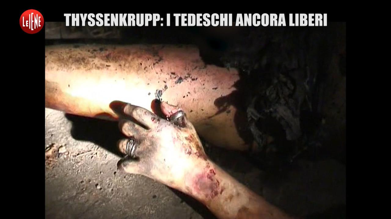 POLITI Thyssenkrupp rogo manager tedeschi ancora liberi