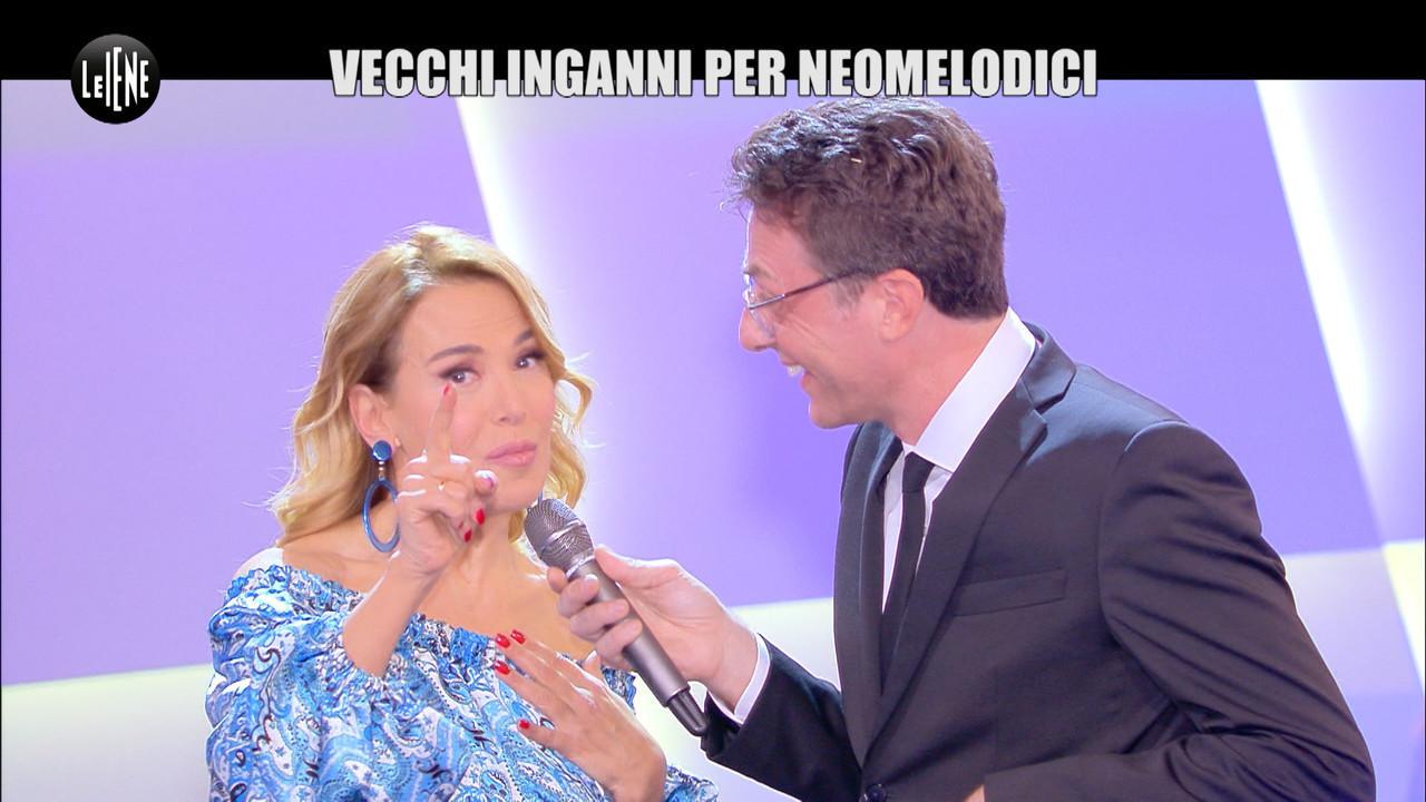 DI SARNO Promette neomelodica ospitata Barbara Urso