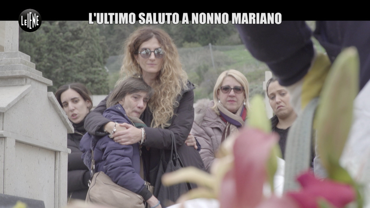 NINA Nonno Mariano morto dopo sfratto