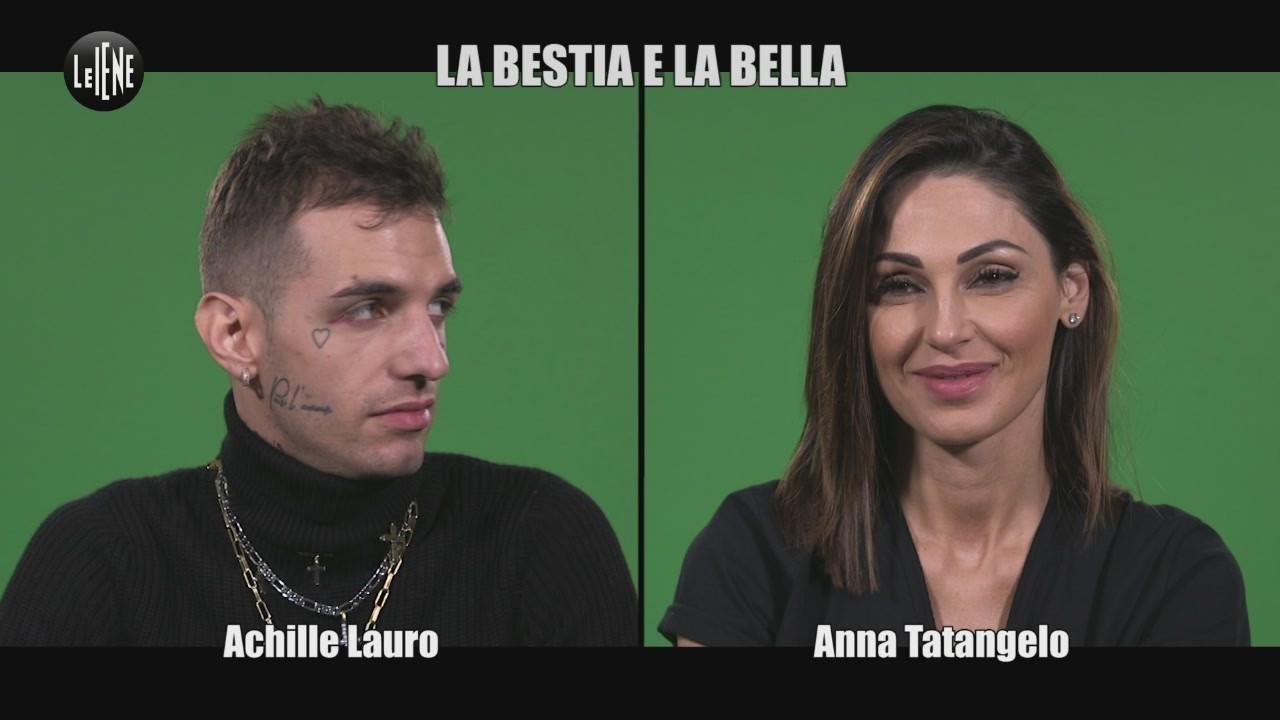 INTERVISTA DOPPIA Anna Tatangelo Achille Lauro